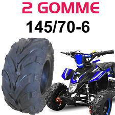 2 PNEUMATICI GOMME RUOTE 145/70-6 QUAD MINI QUAD ATV 145 70 6 4PR RINFORZATO