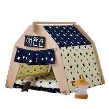 Haus und Zelt mit Spitze für Hund Katze oder andere Haustiere, incl. Matratze s