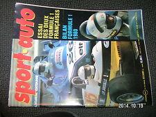 Sport Auto n°227 Conflit FISA/Foca Renault Elf turbo Ligier Gitane F1 1980 Loupe