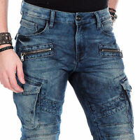 CIPO & BAXX CUBIC MENS JEANS DENIM SLIM FIT CD-369 ALL SIZES
