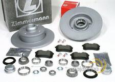 Vw Golf 4 IV Cabrio - Zimmermann Bremsscheiben Bremsbeläge Radlager für hinten