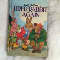 Vintage Brer Rabbit Again Enid Blyton Hardcover 1963 Illustrated Grace Lodge