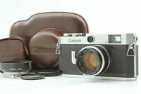 [Exc+5 in Case] Canon P Rangefinder Camera + L39 50mm f/1.8 Lens Hood From JAPAN