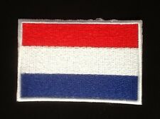 HOLLAND NETHERLANDS DUTCH NATIONAL FLAG BADGE IRON SEW ON PATCH CREST SHIELD 1