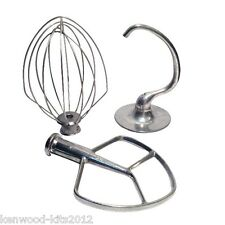 KITCHENAID BURNISHED BEATER, DOUGH HOOK & WHISK FOR PROFESSIONAL 5QT BOWL LIFT