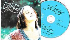 CD CARTONNE CARDSLEEVE 2T ALIZÉE L'ALIZEE DE 2000  TBE