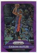 2015-16 Panini Prizm Purple Prizm /99 #217 Caron Butler Sac Kings