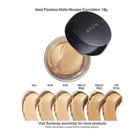Ideal Flawless Matte Mousse Foundation ~ Natural Beige ~ Great Mothers Day Gift