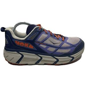 Hoka One One Challenger ATR Running Shoes Womens Size 9 Wide Purple Gray Sneaker