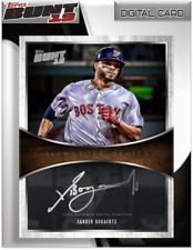 2019 SIGNATURE SERIES XANDER BOGAERTS Topps Bunt Digital Card