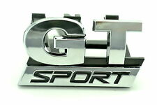 GT Sport Grill Car Emblem for VW Golf MK5 Front GT Sport Grille Car Chrome Badge