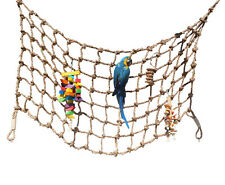 New listing Parrot Rope Climbing Net from Parrot Wizard