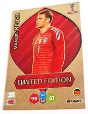 Panini ADRENALYN XL WORLD CUP 2018 Russia WM LIMITED EDITION MANUEL NEUER neu