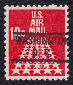 #C72 10c 50 Star Runway, Washington DC Precancel [1] Mint ANY 4=