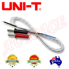 UNI-T UT-T02 Multimeter K-type Temperature Sensor Probe for 4mm banana end unive