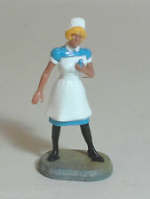 Vintage 60's Blonde Nurse Figure 1.32 (lovely) SCALEXTRIC & AIRFIX SUITABLE A211