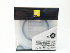Nikon Made in Japan Original Lens Neutral Color Filter NC 52mm NC-52