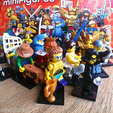 LEGO 71011 Minifigures SERIES 15 COMPLETE SET of 16 SEALED Minifigs lot bundle