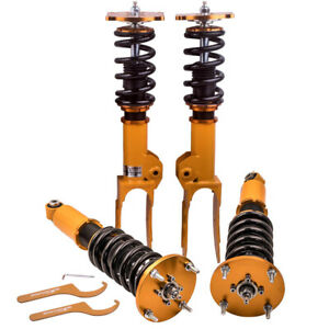 Front Pair Complete Struts /& Coil Springs for 2008 2009 2010 Porsche Cayenne