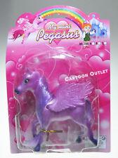 PURPLE Horse Pony Pegasus Toy Christmas Gift Girls Birthday Gift Nip Fun Plastic