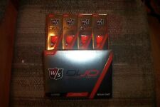 3 dozen BRAND NEW 2015 Wilson Staff  Duo golf balls  Orange spring special