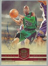 2009-10 Panini Court Kings Jumbo 5X7 SIGNATURE AUTO Autograph RAY ALLEN #1 /10