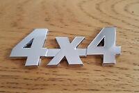 CROMADO 3d 4x4 metal Placa Pegatina Emblema para Audi Tt Quattro Cabriolet