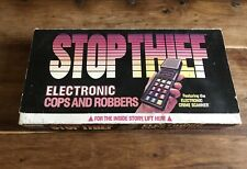 VINTAGE 1979  STOP THIEF ELECTRONICS COPS AND ROBBERS GAME BY PARKER BROTHERS