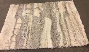 Vintage MCM Mid Century Rya Style Carpet Rug Desso 4x6