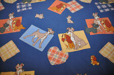 Disney CTI VINTAGE the Lady and the Tramp reversible duvet cover