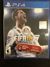New Unopened FIFA 18 Sony PlayStation 4 Rated E For Everyone Ultimate Team