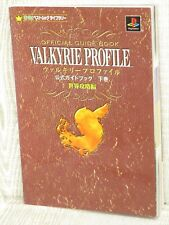 VALKYRIE PROFILE Official Guide Vol. 2 PS Book 2000 EX30*