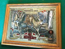 Mint White Tail Deer Old Milwaukee Beer Mirror #1 Wildlife Series