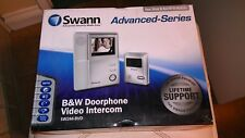 "NEW Swann SW244-BVD Black & White Doorphone Video Intercom with 4"" Display"