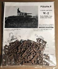 MODELKASTEN W-2 - Pzkpfw.IV ROAD WHEEL EARLY MIDDLE LATE - 1/35 PLASTIC
