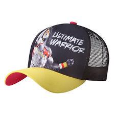 WWE ULTIMATE WARRIOR YELLOW MESH BASEBALL CAP OFFICIAL NEW RARE