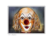 Armin Birkel Clown Studie II Poster Kunstdruck Bild 30x40cm - Portofrei