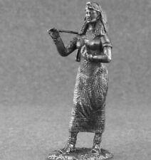Queen Cleopatra Miniature Figure Female Erotic Metal Toy Soldiers 54mm Girl 1/32