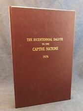 1976 SIGNED House of Reps Salute to Captive Nations Native American Indian RARE
