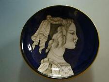 RS0217-200: Keramik Schale France Schini Pesaro Mädchen