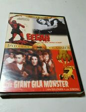 Double Feature: Eegah/The Giant Gila Monster (Slimline DVD, 2005) BRAND NEW DVD