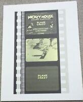 PLANE CRAZY storyboard format Walt Disney animated cartoon short FREE US S/H