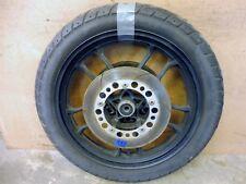 1985 Honda V65 Magna VF1100 H1017-15. front wheel rim 18in with brake rotors