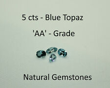 Blue Topaz Loose Natural 5 Carats Grade AA