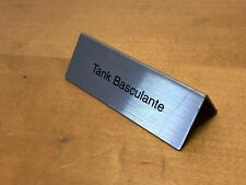 Placa Display Plaque CARTIER - Tank Basculante - For Watches Relojes Montres