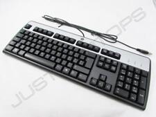 New HP Swiss Schweiz Computer PC USB Keyboard Clavier Tastatur