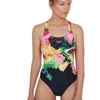 SPEEDO WOMENS SWIMSUIT.COLOURBLEND PLACEMENT ENDURANCE+ SWIMMING COSTUME S20 54