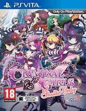 Criminal Girls: Invite Only (PS Vita) - BRAND NEW & SEALED UK