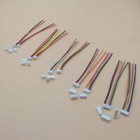10 SETS Mini Micro ZH 1.5 2/3/4/5/6/7/8 Cables Wires length 100mm with Connector