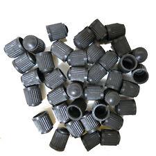 100PC Auto Car Wheel Tire Valve Stem Caps Tyre Anti-Leak Cover Black Plastic HOT